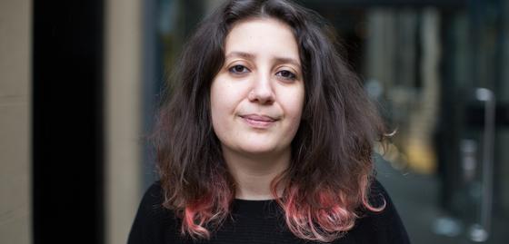 Playwright Sara Shaarawi